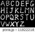 シェービングフォームで書いたアルファベット 11822218
