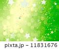 デザイン 緑 星のイラスト 11831676