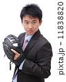ビジネスマン 実業家 ベースボールの写真 11838820