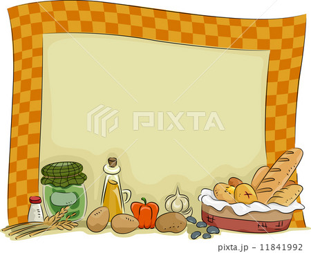 Country Style Kitchen Board Background 11841992 Pixta