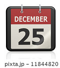 クリスマス 日付 カレンダーのイラスト 11844820