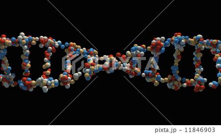 DNA strand close-up 11846903