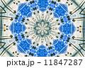 椰子の木イメージ模様 11847287