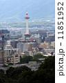 ランドマーク 京都タワー 街並みの写真 11851952