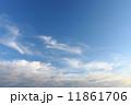 雲 青空 空の写真 11861706