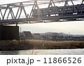 多摩川 京王線 鉄橋の写真 11866526