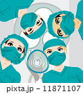 酸素 手術 マスクのイラスト 11871107