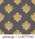 Floral yellow seamless pattern 11877343