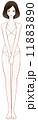 美容 女性 人物のイラスト 11883890