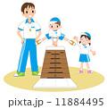跳び箱の練習 11884495