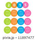 カレンダー 暦 アジェンダのイラスト 11897477
