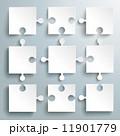 部品 テンプレート インフォグラフィックのイラスト 11901779