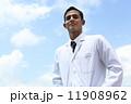 医者 白衣 ドクターの写真 11908962