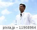 医者 白衣 ドクターの写真 11908964