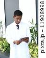 医師 白衣 医者の写真 11908998