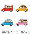 乗用車 ベクター 乗り物のイラスト 11916579