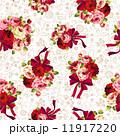 ボタニカル柄 ベクター 薔薇のイラスト 11917220