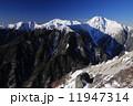 厳冬の白峰三山(鳳凰三山・観音岳より) 11947314
