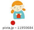 あみもの女の子 11950684