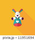 からくり人形 マリオネット 操り人形のイラスト 11951694