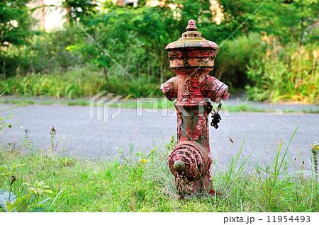 古い消火栓 11954493