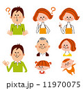 家族 表情 バリエーション 11970075