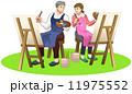 シニア夫婦/芸術 11975552