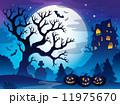 ハロウィン あき 秋のイラスト 11975670