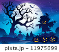 ハロウィン あき 秋のイラスト 11975699