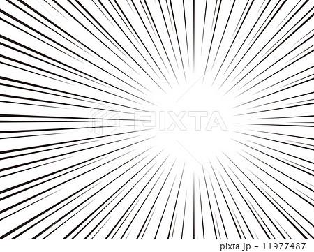 フラッシュ効果のイラスト素材 11977487 Pixta