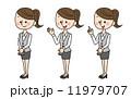 スーツ  制服 女性 11979707