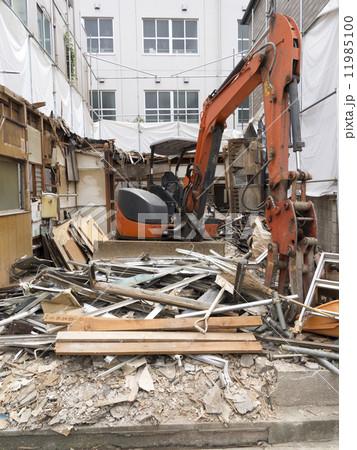 住宅の解体工事 11985100