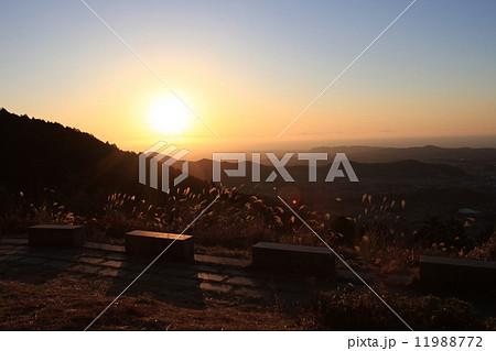 ヤビツ峠からの朝日 11988772