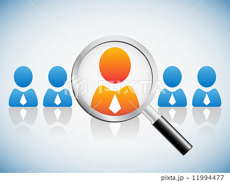 Human resource concept 11994477