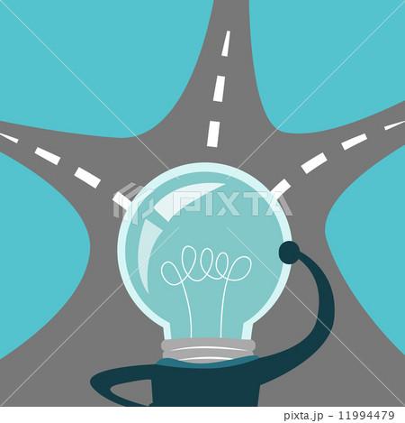 light bulb business man think 11994479