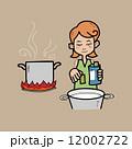 キッチン 台所 おすいもののイラスト 12002722