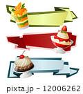 デコラティブ 装飾的 飾りのイラスト 12006262