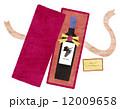 洋酒 赤ワイン プレゼントのイラスト 12009658