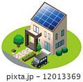 太陽光発電/家 12013369