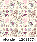 Seamless wedding patterns. 12018774