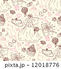 Seamless wedding patterns. 12018776