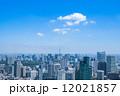 東京ビジネス街とスカイツリー 12021857