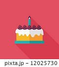 カップケーキ ミニマル コンセプトのイラスト 12025730