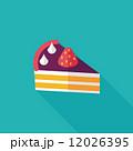 ミニマル カップケーキ コンセプトのイラスト 12026395