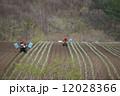 浅間高原の農作業 12028366
