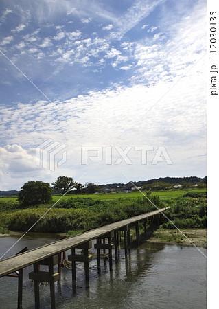 袋井市原野谷川の沈下橋 12030135