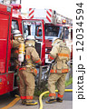 消防隊員 消防士 人物の写真 12034594