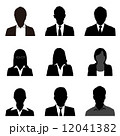 ビジネスマン シルエット 12041382