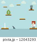 ゲーム 試合 ビジネスマンのイラスト 12043293