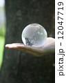 地球を持つ手 12047719